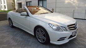 Mercedes-Benz E Class 2.1 E220 CDI BlueEFFICIENCY Sport 7G-Tronic Plus 2dr SATNAV PREP/FSH/BLUETOOTH