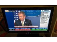 Sharp AQUOS 32inch HD led tv inc brand new wall mount