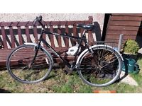 Hawk Woodland man's Hybrid bike. cycle. men's bicycle needs attention