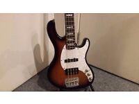 Cort GB 334A Active Bass Guitar - Collection Only.