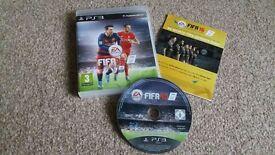 PS 3 game EA Sports FIFA 16