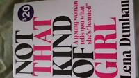 "New Book ""Not That Kind of Girl """