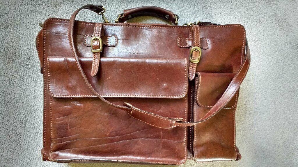 651666cea01 Italian Leather Briefcase