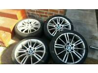 Bmw 18inch alloys need tyres