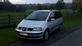 Seat Alhambra 1.9 TDI one owner cambelt water pump tensioner replaced