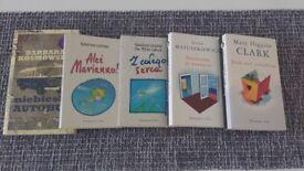 Set of 5 books in polish language