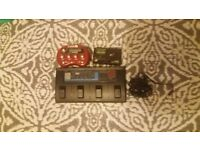 ZOOM 1010 Multi-effect - LINE 6 Pocket Pod - KORG Tuner