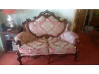 French Vintage Style Sofa Suite