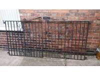 8ft metal garden or driveway gates