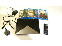 Sony Bdp-s4200 bluray player with 5 films