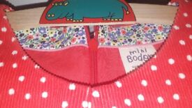 Boden girl's red dress NEW age 9-10