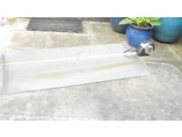 Water feature stainless steel blade