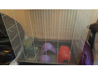 Pet Cage, used for pet rats & accessories