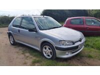 Peugeot 106 1.4 Quicksilver - FSH - LOW OWNERS!!