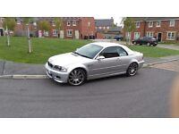 BMW e46 M3 Convertible