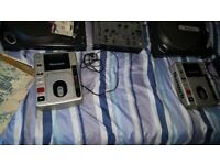 Dj mixer and decs and CD decs