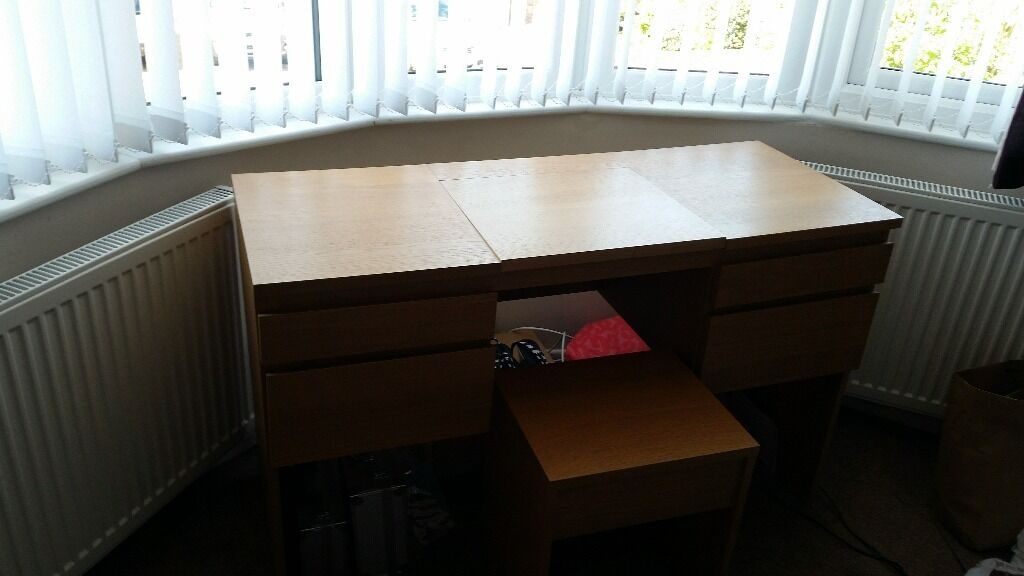 Ikea ransby dressing table with buy sale and trade ads for Thin dressing table