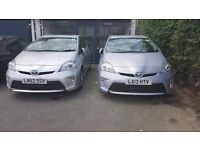 UBER READY PCO CAR FOR HIRE- TOYOTA PRIUS, HONDA INSIGHT, FORD GALAXY, CITROEN C4, PCO CAR RENT