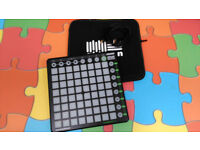 Novation Launchpad + case and cable.