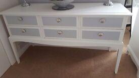 Stag Minstrel Dresser/Sideboard And Drawer Set Vintage
