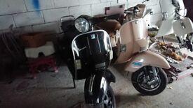 Vespa or lambretta scooter wanted