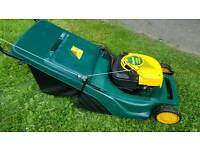 Mtd yard man petrol lawnmower. Rear roller and selfpropelled
