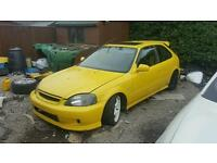 BREAKING Honda Civic Jordan VTI B16a HIGH SPEC B16 EK4 B16A2