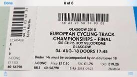 European track cycling championships