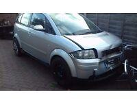 AUDI A2 2005 1.4 PETROL CAR STILL STARD AND DRIVE