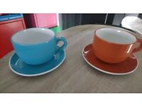 2 extra large coffe mugs from ikea