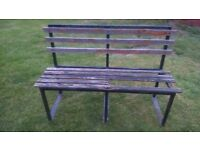 BENCH FOR GARDEN - Restoration project