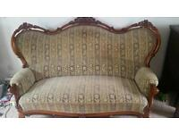 Antique german sofa