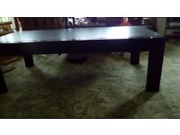Strong black coffee table