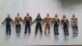 Job lot of Wrestlers.