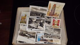 collection of cigarette cards