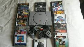 Playstation one and games