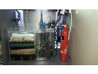 Complete CO2 Aquarium Fish Tank System Planted CO2Art