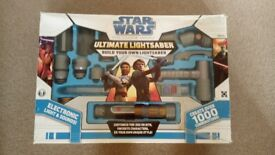Collectable Star Wars, The Clone Wars Build your own lightsaber