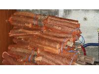 Net Bags of Seasoned Logs
