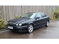 Jaguar X-Type 2.0 Classic D Saloon (2005/55 Reg) + Diesel + BLACK + NO MOT + SPARES OR REPAIR +