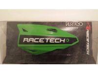 Racetech vertigo hand guards KX Green