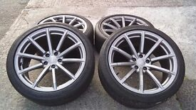 "Audi 19"" Genuine RS4 2012 alloys 5x112"