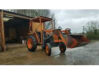 Kubota L245 compact tractor with loader