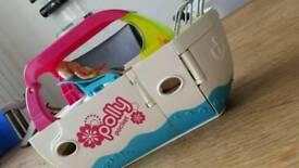 Polly Pocket party boat with jet ski