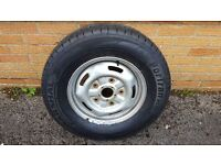 Ford Transit Wheels x 2 - New Tyres and Balanced 215/75R 16C