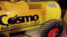 Cosmo Air3horse-Midi. 3hp 50 litres