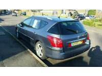Peugeot 407 SW 2 Ltr manual estate.