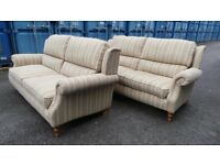 As New !Two Matching Parker Knoll sofas Only Two Years Old,Cost £3000