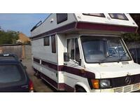 Mercedes Benz 307D motor home, running project currently in EN8