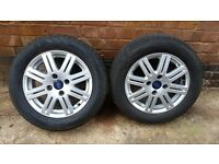 Alloy wheels and trims to suit Ford Focus - 4 off
